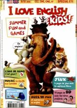 """Afficher """"I love English for kids ! n° 174<br /> I love English for kids ! - juillet - août 2016"""""""