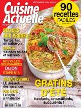 """Afficher """"Cuisine actuelle n° 309 Cuisine actuelle - septembre 2016"""""""