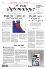 """Afficher """"Le Monde diplomatique n° 758<br /> Le Monde diplomatique - mai 2017"""""""