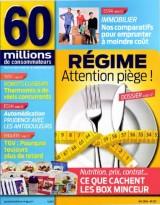"""Afficher """"60 millions de consommateurs n° 537 REGIME ATTENTION PIEGE !"""""""