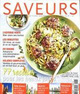 """Afficher """"SAVEURS n° 246 77 recettes pour les beaux jours"""""""