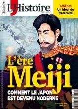 """Afficher """"L'Histoire n° 451<br /> L'ère Meiji - septembre 2018"""""""