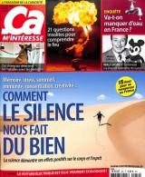 """Afficher """"Ca m'intéresse n° 452 Octobre 2018 - Comment le silence nous fait du bien"""""""