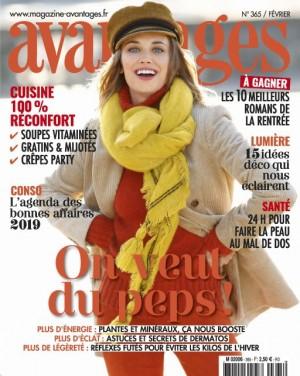 "Afficher ""Avantages n° 365 Avantages - février 2019"""