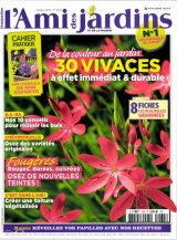 """Afficher """"L'ami des jardins et de la maison n° 1035 De la couleur au jardin : 30 vivaces à effet immédiat et durable"""""""