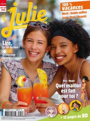 """Afficher """"JULIE n° 252 100% vacances"""""""