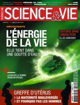 """Afficher """"Science & vie n° 1169<br /> L'Energie de la vie: elle tient dans une goutte d'eau ! (février 2015)"""""""