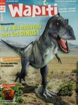 """Afficher """"Wapiti n° 320 Il y a du nouveau chez les Dinos !"""""""
