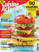 """Afficher """"Cuisine actuelle n° 295 Cuisine actuelle (Bray sur Somme) - juillet 2015"""""""