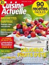 """Afficher """"Cuisine actuelle n° 296 Cuisine actuelle - août 2015"""""""