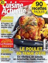 """Afficher """"Cuisine actuelle n° 297 Cuisine actuelle - septembre 2015"""""""