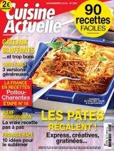 """Afficher """"Cuisine actuelle n° 299 Cuisine actuelle - novembre 2015"""""""