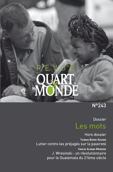 Revue Quart Monde n° 243 Les mots