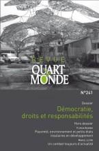 """Afficher """"Revue Quart Monde n° 241 Démocratie, droits et responsabilités"""""""