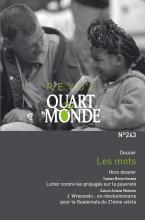 """Afficher """"Revue Quart Monde n° 243 Les mots"""""""