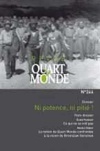 """Afficher """"Revue Quart Monde n° 246 Ni potence, ni pitié !"""""""
