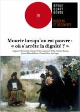 """Afficher """"Dossiers et documents de la revue Quart Monde n° 28 Mourir lorsqu'on est pauvres : """"où s'arrête la dignité ?"""""""""""