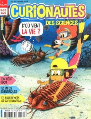 """Afficher """"Curionautes des sciences n° 2020<br /> D'où vient la vie ?"""""""