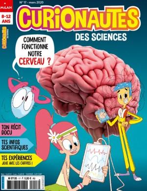 """Afficher """"Curionautes des sciences n° 2020<br /> Comment fonctionne notre cerveau?"""""""