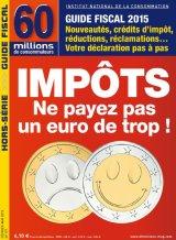 """Afficher """"60 millions de consommateurs n° 177<br /> Impôts : Ne payez pas un euro de trop ! (février-mars 2015)"""""""