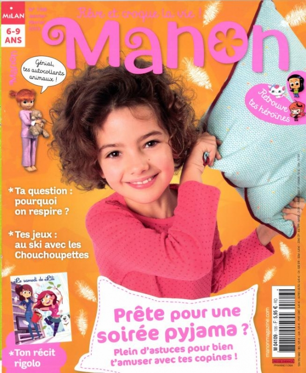 Manon n° 106<br /> 20 bricos en papier pour t'amuser (février 2013)