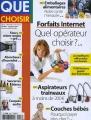 "Afficher ""Que choisir n° 496 Octobre 2011"""