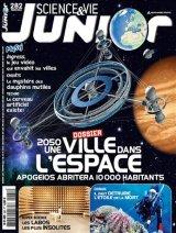 """Afficher """"Science & vie Junior n° 282<br /> 2050, une ville dans l'espace (mars 2013)"""""""