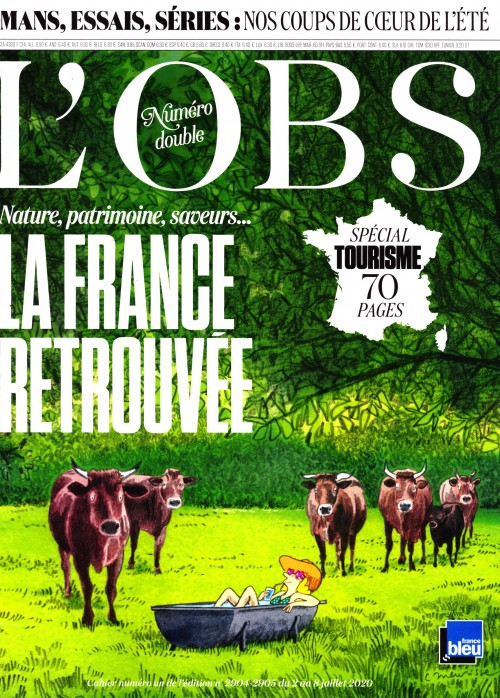 L'Obs. n° 2904-2905 L'Obs. - La France retrouvée - 02 juillet 2020 - 08 juillet 2020