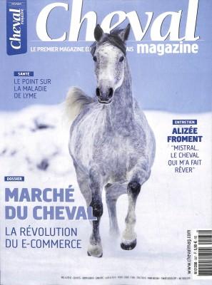 """Afficher """"Cheval magazine n° 567 Cheval magazine - février 2019"""""""