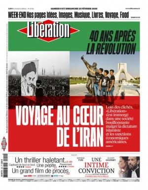 "Afficher ""Libération n° 11724 Libération - samedi 09 février 2019"""