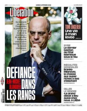 """Afficher """"Libération n° 11725 Libération - lundi 11 février 2019"""""""