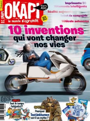 """Afficher """"OKAPI n° 1085 10 inventions qui vont changer nos vies"""""""