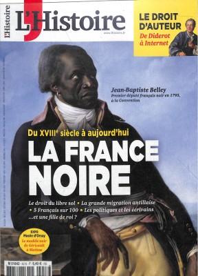 """Afficher """"L'Histoire n° 457 L'Histoire - mars 2019"""""""