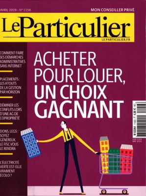 """Afficher """"Le particulier n° 1156 Le particulier - avril 2019"""""""