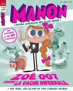"""Afficher """"Manon n° 169 Manon - mars 2019"""""""