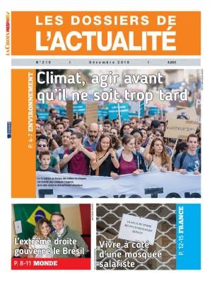 """Afficher """"LES DOSSIERS DE L'ACTUALITE n° 210 LES DOSSIERS DE L'ACTUALITE - décembre 2018"""""""