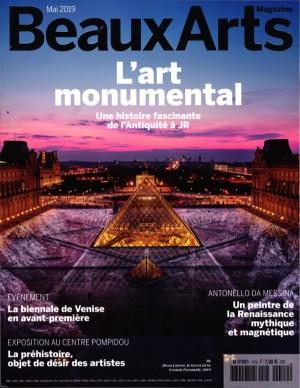 "Afficher ""Beaux Arts Magazine n° 419 Beaux Arts Magazine - mai 2019"""