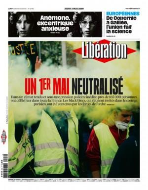 "Afficher ""Libération n° 11792 Libération - jeudi 02 mai 2019"""