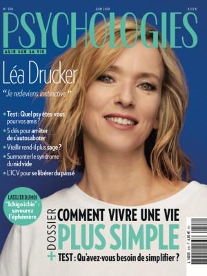 "Afficher ""Psychologies n° 398 Psychologies - juin 2019"""