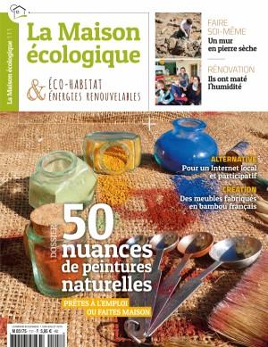 """Afficher """"La maison écologique n° 111 La maison écologique - 01 juin 2019 - 31 juillet 2019"""""""