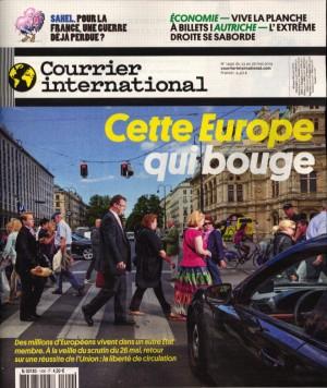 """Afficher """"Courrier international n° 1490 Courrier international - 24 mai 2019 - 30 mai 2019"""""""