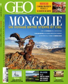 """Afficher """"GEO n° 484 Mongolie"""""""