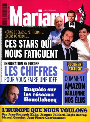 "Afficher ""Marianne n° 1158 Marianne - 24 mai 2019 - 30 mai 2019"""