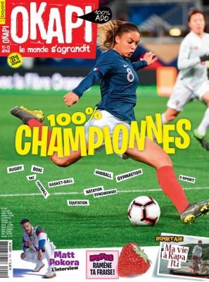 """Afficher """"OKAPI n° 1091 100 % championnes"""""""