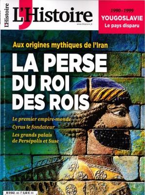"""Afficher """"L'Histoire n° 460 L'Histoire - juin 2019"""""""