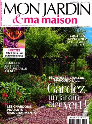 "Afficher ""Mon jardin & ma maison n° 714 Mon jardin & ma maison - juillet 2019"""