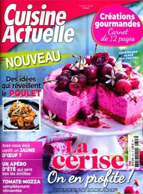"""Afficher """"Cuisine Actuelle n° 343 Cuisine Actuelle - juillet 2019"""""""