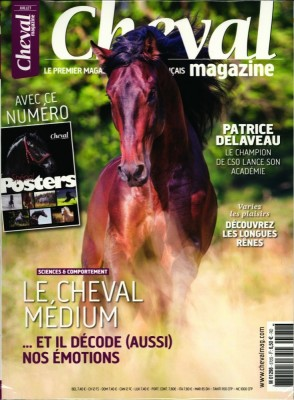 """Afficher """"Cheval magazine n° 572 Cheval magazine - juillet 2019"""""""