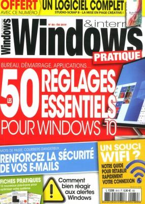 "Afficher ""Windows & Internet pratique n° 85 Windows & Internet pratique - août 2019"""