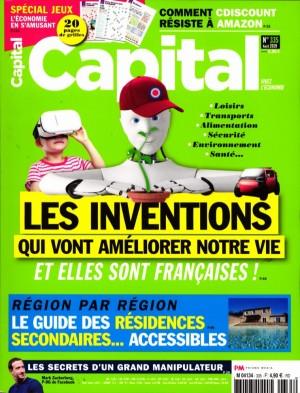 "Afficher ""Capital n° 335 Capital - août 2019"""
